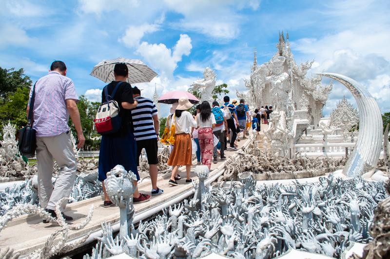 白い寺ワットロンクン
