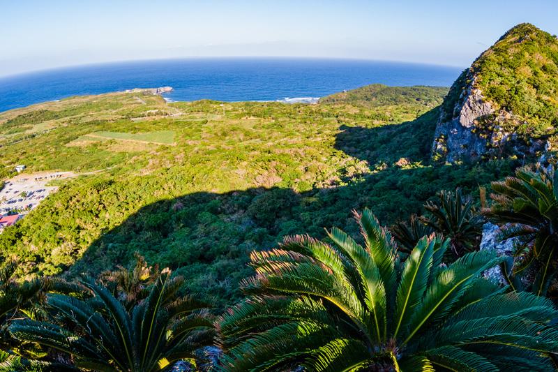 大石林山から眺める辺戸岬