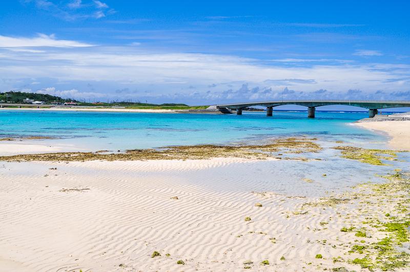 伊平屋島の米崎ビーチ