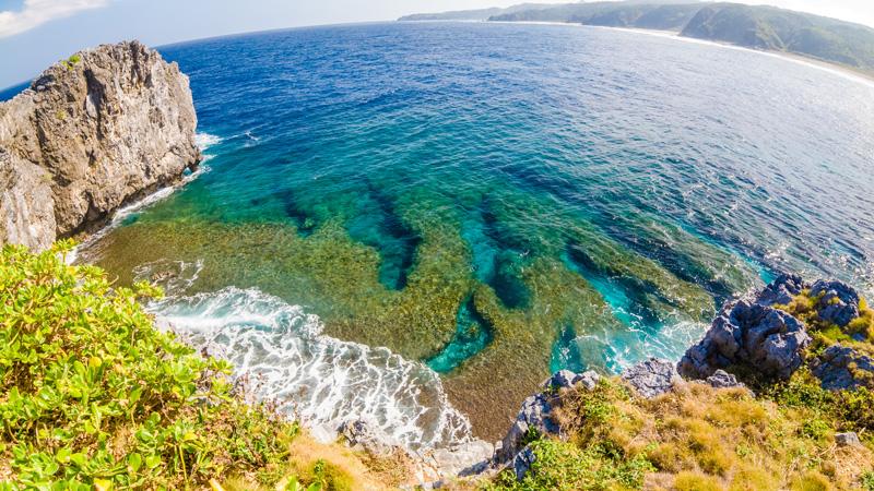 辺戸岬の美しい海