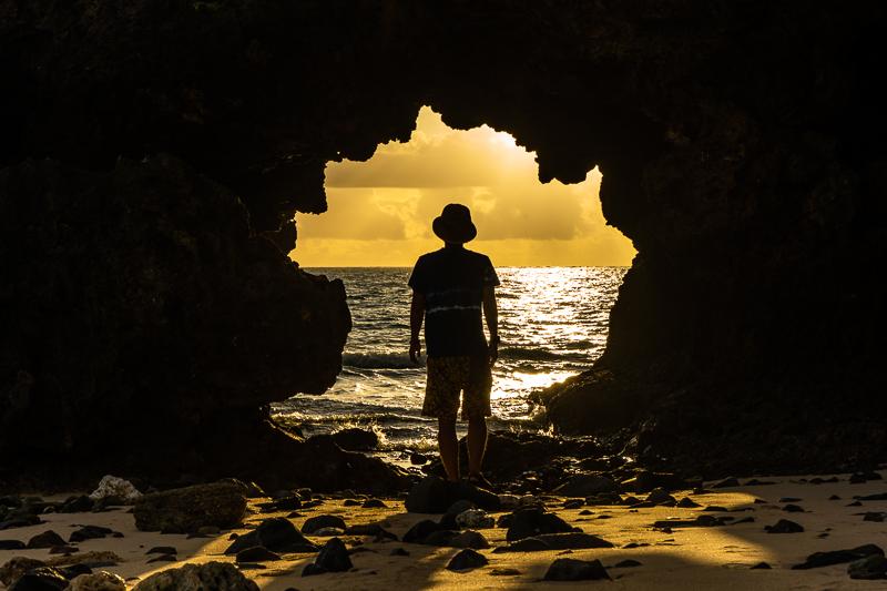与論島のタイムトンネル