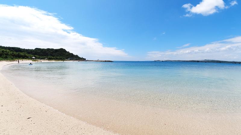 浜比嘉島のふるさと海岸