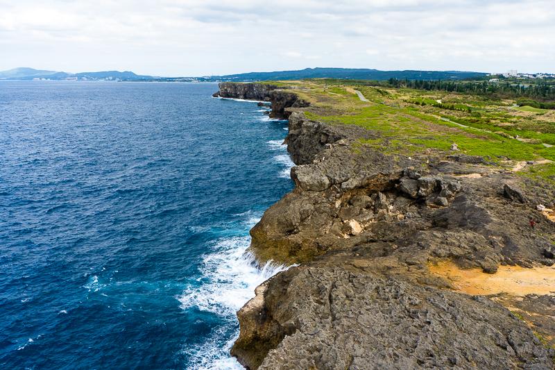 残波岬灯台から眺める絶景