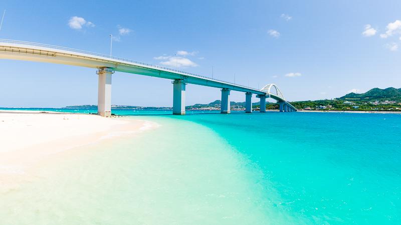 アンチ浜と瀬底大橋