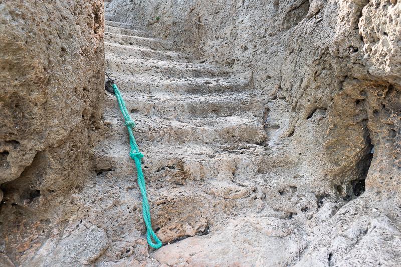 山城うりぐちの階段