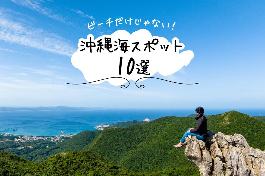 嘉津宇岳山頂からの景色